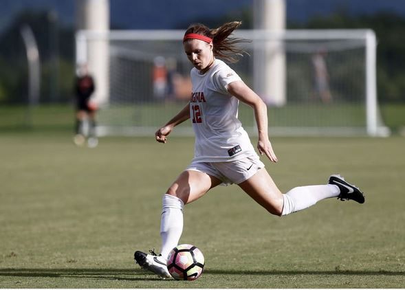 Veronica Latsko selected by the Houston Dash